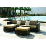 Moonlight Relax - Sofagruppe i sort polyrattan