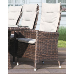 Comfort/Holiday lenestol chocolate m/puter